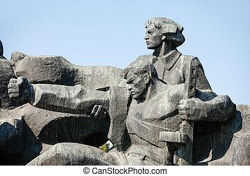WW2, monumento conmemorativo, Kiev