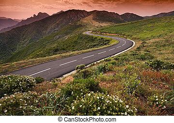 Corsica - Beautiful landscape in Corsica - France