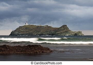 Giraglia - Island of Giraglia - Corsica
