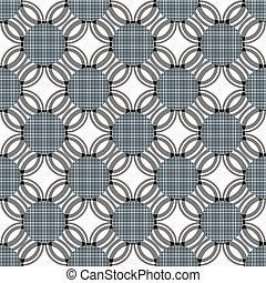 schöne, symmetrisch, Muster