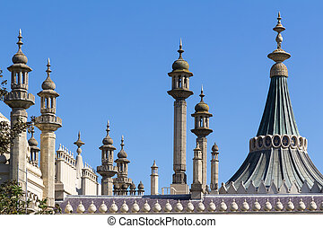 Brighton Royal Pavilion - The Royal Pavilion a former Royal...