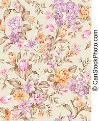 seamless pattern - Classical style pattern seamless...