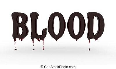 blood - 3d