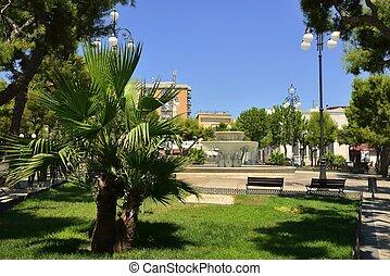 pubblici,  grottaglie,  giardini,  -