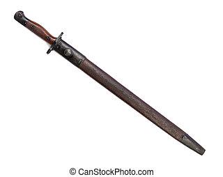 vintage sword - A close up image of a vintage sword against...