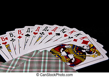 Jacks, Queens, Kings and face cards