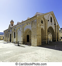 Famous Omodos Monastery in Cyprus