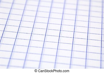 notebook paper - close up of paper in a notebook with...