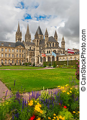 Abbey of Saint Etienne,  Caen, Normandy, France