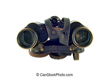 WWII memorabilia - Antique German officers binoculars from...
