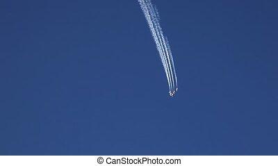 airshow - acrobatic super jet airshow