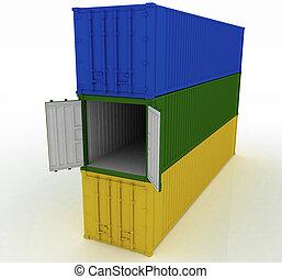 cargo container  - cargo container