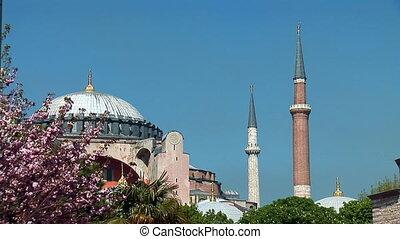 Aya Sofya (Hagia Sophia) c - Hagia Sophia in Istanbul...