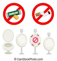 Disclaimer of rest room