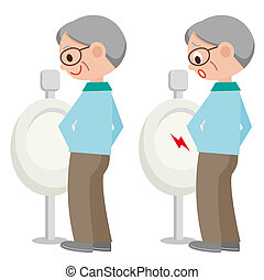 cartoon character on toilet