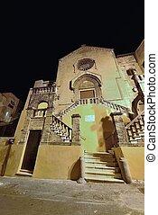 Chiesa di San Domenico - L'antica chiesa in Taranto (Italia)...