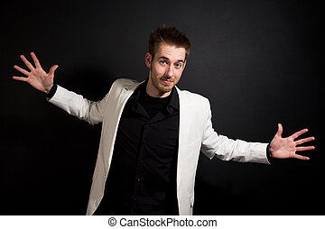 Casual businessman - A shot of a happy and relaxed casual...