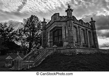 The mausoleum of William, Second Earl of Lowther. - The...