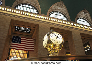 Grand Central Terminal Clock - Clock at Grand Central...