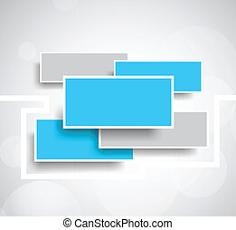 Abstract background with rectangles - Bright background with...