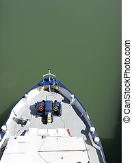 tanker from above