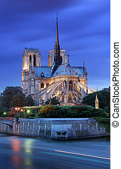 Notre Dame de Paris - The Cathedral Notre Dame de Paris on...