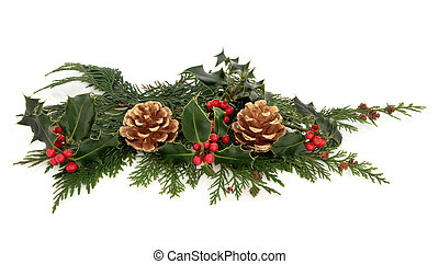 Christmas Decorative Display - Christmas decoration of...