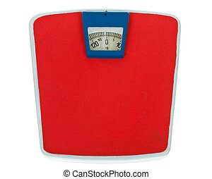 Retro weight scale