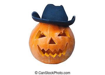 Cowboy pumkin