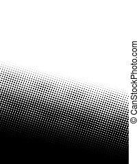 halftone - A black and white halftone background - plenty of...