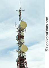 Radio transmitters and antennas