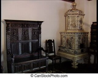DRACULA CASTLE bedroom furniture - Furniture in the bedroom...
