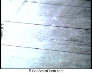 DRACULA CASTLE bearskin pan - Bearskin filmed in Count...