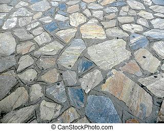 Stone texture details