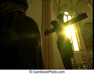 SUN and Jesus crucified 2