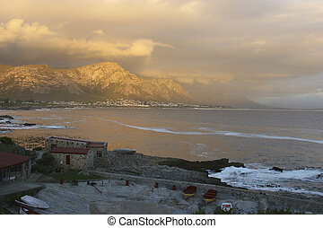 Old Whaling Station - old whaling station at Hermanus, Cape...