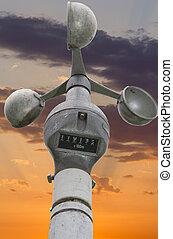 Velocímetro,  anemometer-wind
