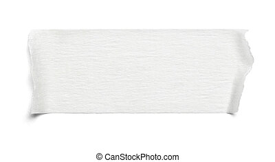 adhesive tape - close up of an adhesive tape on white...