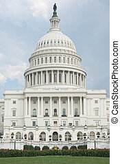 West Portico of United States Capitol - West Front of United...