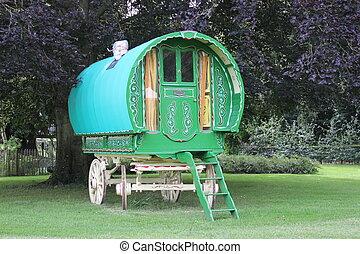 A Gypsy Wagon