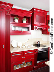 Bright brand new european kitchen - european brand new...