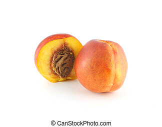Ripe peaches