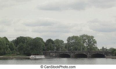 Hamburg, river boat