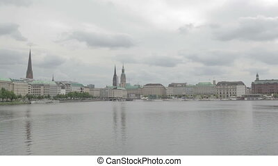Hamburg view time lapse - Timelapse - Hamburg, Germany...