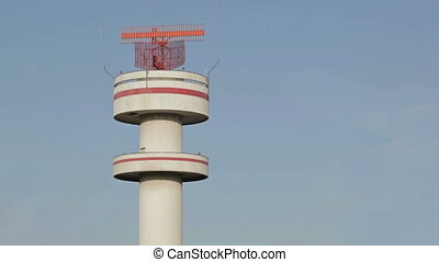 Airport tower, Hamburg - Airport tower in Hamburg airport,...
