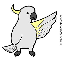 Indicates cacatua - Creative design of indicates cacatua