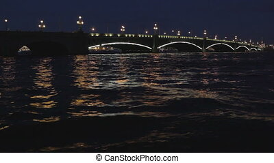 The Troitsky bridge in Saint Petersburg - The Troitskiy...