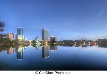 Orlando in the Early Morning