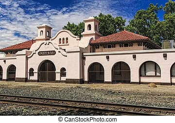Modesto Transportation Center - The old Southern Pacific...