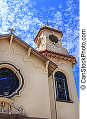 St Stanislaus Catholic Church in Modesto, California